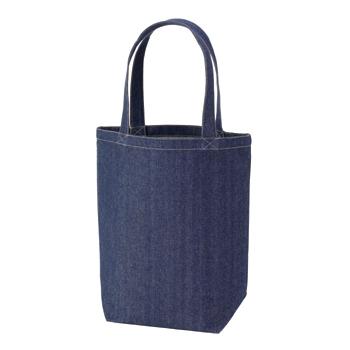 デニムトート(M) :インディゴの商品画像