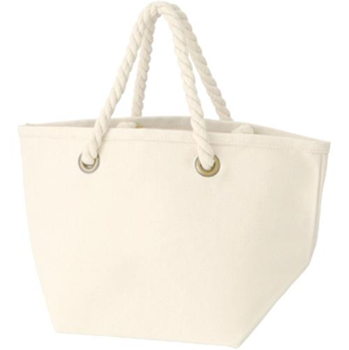 ロープハンドルコットントートバッグの商品画像