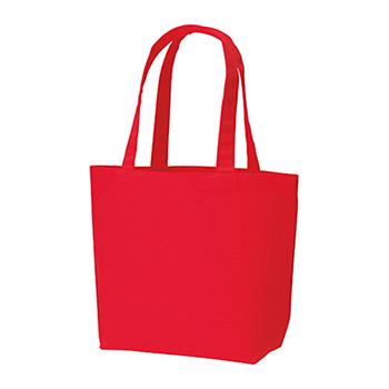 コットンキャンバストート(SM):レッドの商品画像