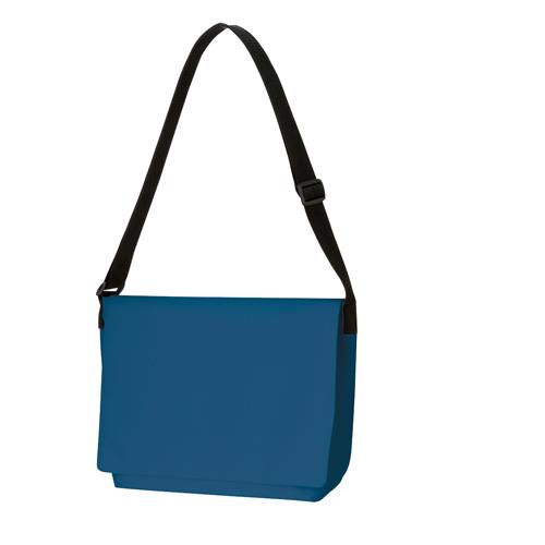 フラップ付ショルダーバッグ:ネイビーブルーの商品画像