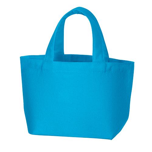キャンバスデイリートート(SS):ターコイズブルーの商品画像
