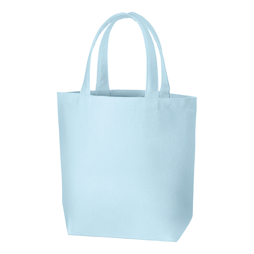 キャンバスデイリートート(SM):ライトブルーの商品画像