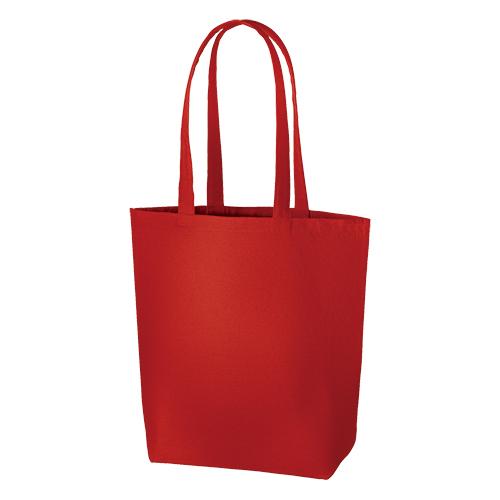 キャンバスデイリートート(M):レッドの商品画像