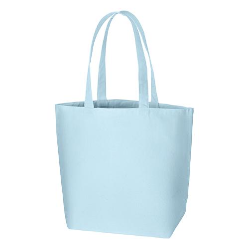 キャンバスデイリートート(L):ライトブルーの商品画像