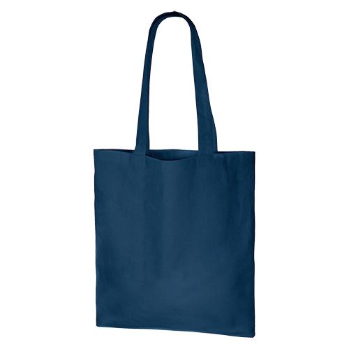 厚手コットンバッグ(M):ネイビーの商品画像