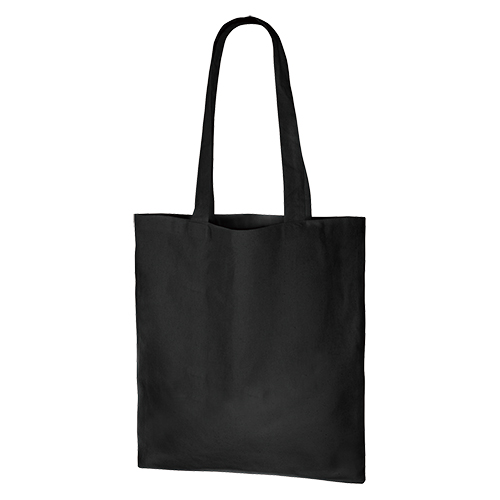 厚手コットンバッグ(M):ブラックの商品画像