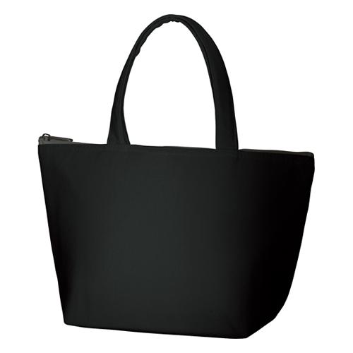 キャンバス保冷トート(S):ブラックの商品画像