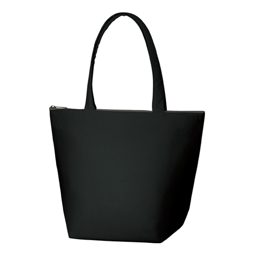 キャンバス保冷トート(M):ブラックの商品画像
