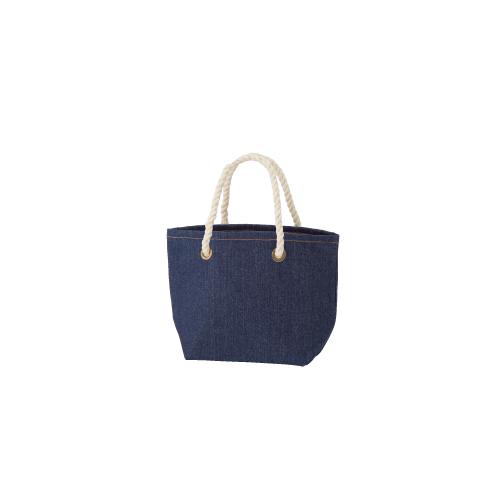 デニムロープトートバッグ(S):インディゴの商品画像