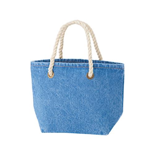 デニムロープトートバッグ(S):ヴィンテージブルーの商品画像