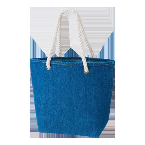 デニムロープトートバッグM:ウォッシュブルーの商品画像