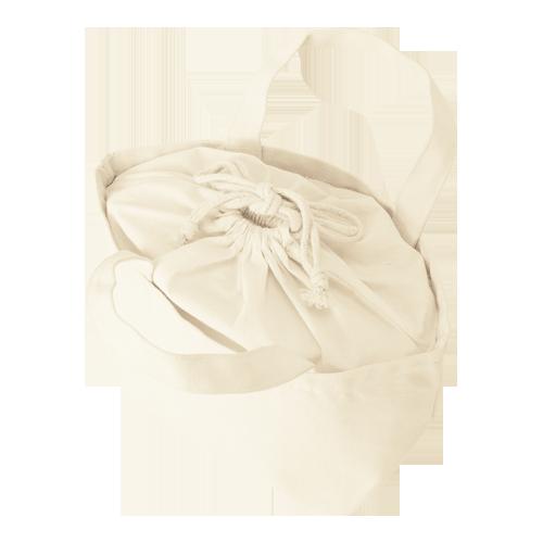 巾着付コットントートバッグSのサンプルイメージ画像3