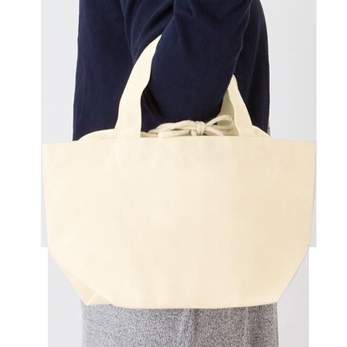 巾着付コットントートバッグSのサンプルイメージ画像5
