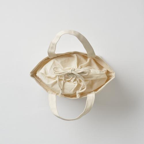 巾着付コットントートバッグSのサンプルイメージ画像6