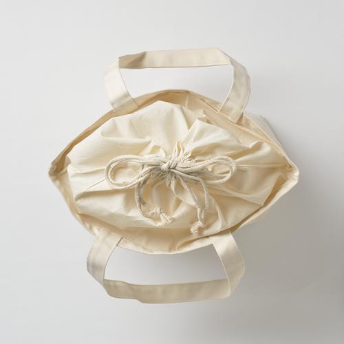 巾着付コットントートバッグMのサンプルイメージ画像7