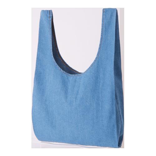 ライトデニムマルシェバッグ:ヴィンテージブルーの商品画像