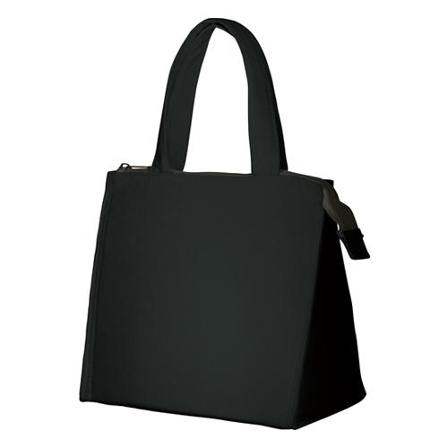キャンバススクエア保冷トート(S):ブラックのメイン画像