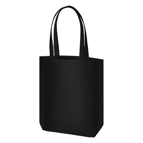 ライトキャンバスタウントート(M):ブラックの商品画像