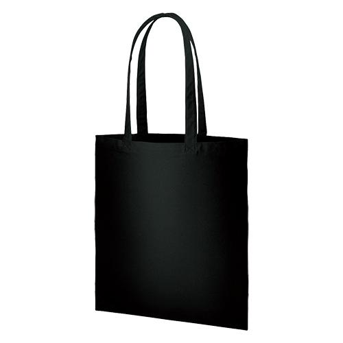 ライトコットンキャンバスバッグ(LL):ブラックの商品画像