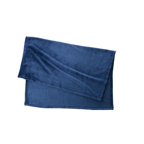 フリースブランケット(巾着付):ネイビーのメイン画像