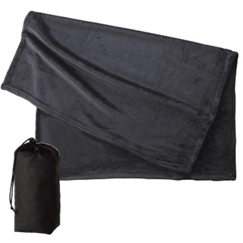フリースブランケット(巾着付)の商品画像