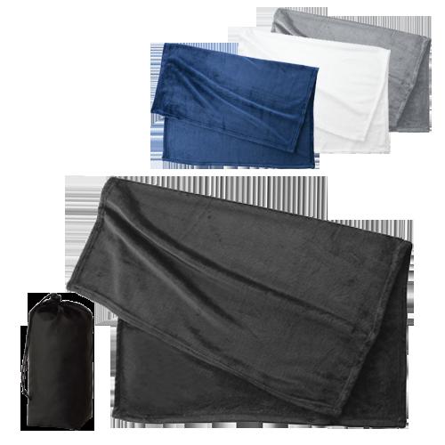 フリースブランケット(巾着付)のサンプルイメージ画像1