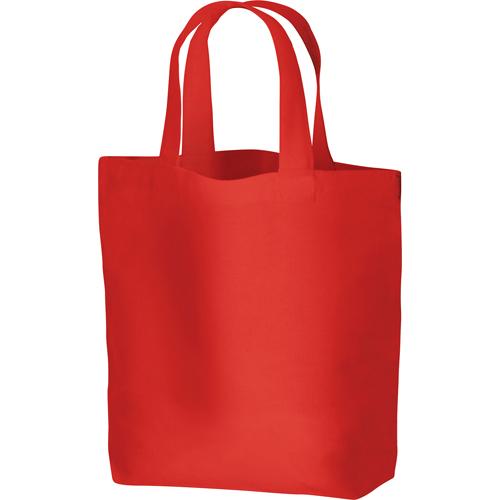コットンバッグ(S):レッドの商品画像