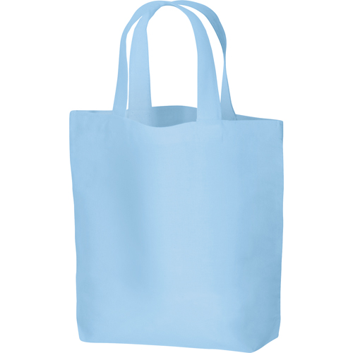 コットンバッグ(S):ライトブルーの商品画像
