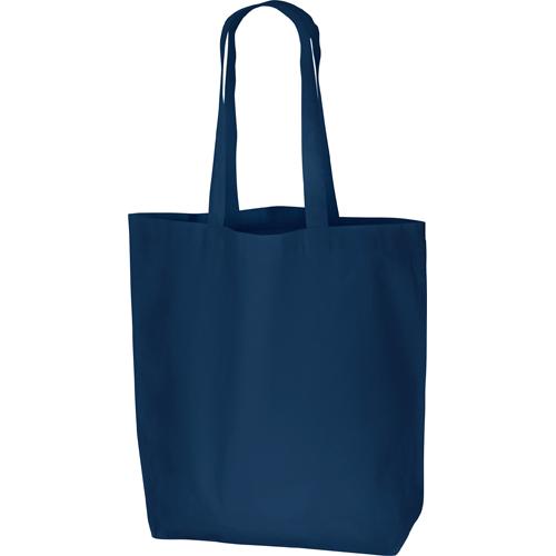 コットンバッグ(L):ネイビーの商品画像