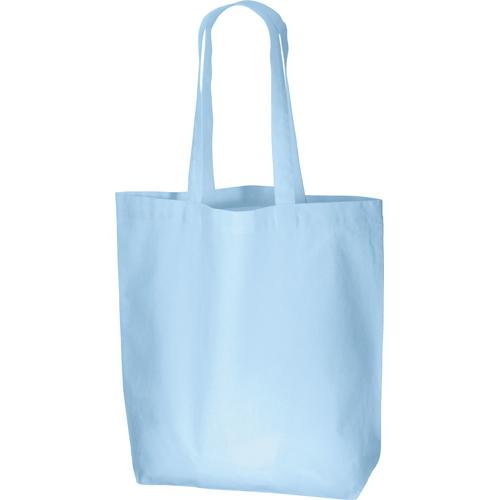 コットンバッグ(L):ライトブルーの商品画像