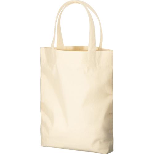 コットンガゼットマチ付バッグ(M):ナチュラルの商品画像