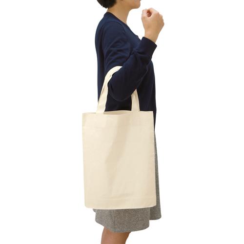 コットンガゼットマチ付バッグ(M)のサンプルイメージ画像4