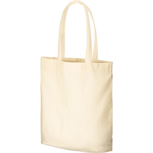 コットンガゼットマチ付バッグ(L):ナチュラルの商品画像