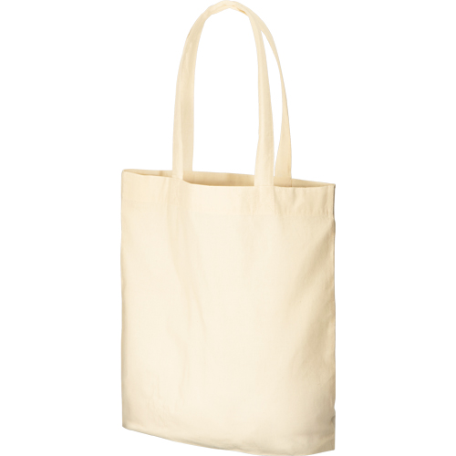 コットンガゼットマチ付バッグ(L)の商品画像