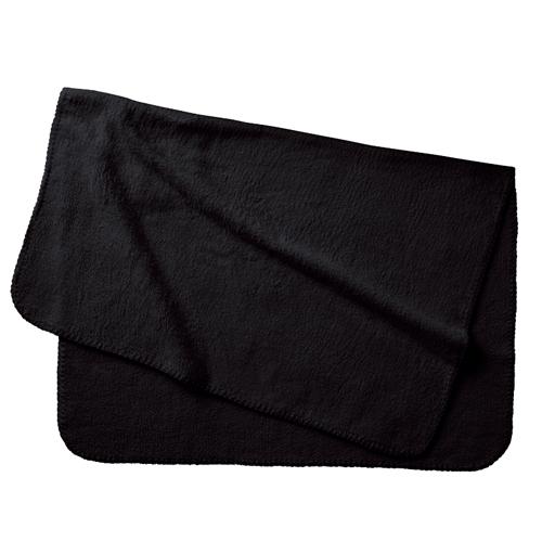 ポケットブランケット(ベルト付):ブラックのメイン画像