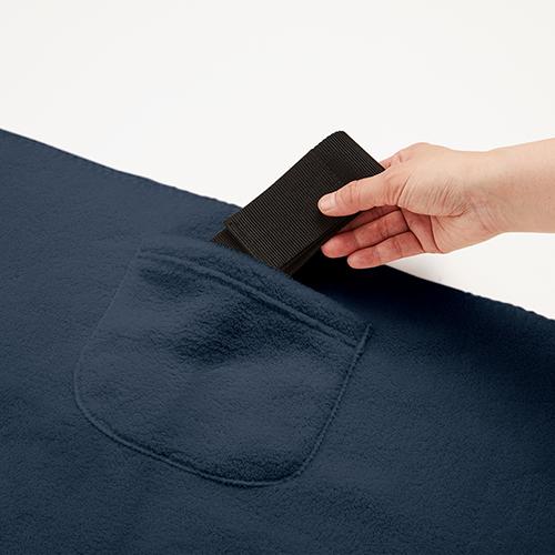 ポケットブランケット(ベルト付)のサンプルイメージ画像2