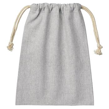 シャンブリック巾着(M):グレーのメイン画像