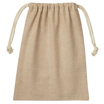 シャンブリック巾着(M):ベージュのメイン画像
