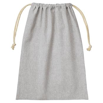 シャンブリック巾着(L):グレーの商品画像