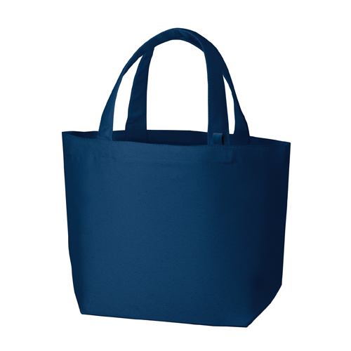 キャンバストート(S)インナーポケット付:ミッドナイトブルーの商品画像