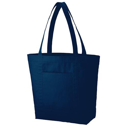 キャンバスライントート(L):ミッドナイトブルーの商品画像
