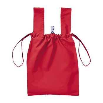 クルリト デイリー 巾着バッグ:レッドの商品画像