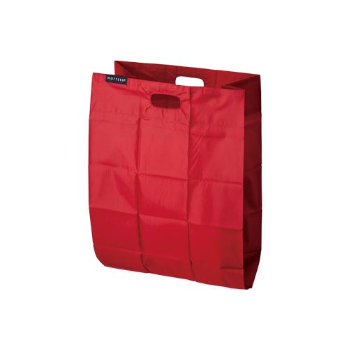 クルリト ポケットスクエアバッグ:レッドのメイン画像