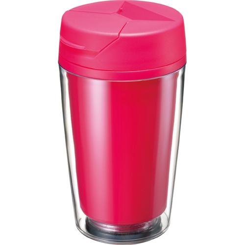 カスタムデザインタンブラーFC 350ml:ピンクのイメージ画像