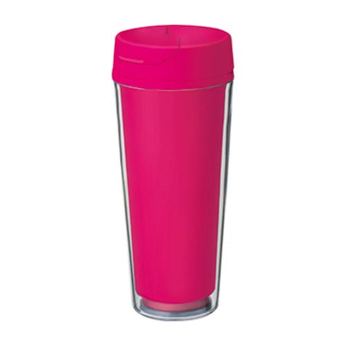 カスタムデザインタンブラーFC 500ml:ピンクのイメージ画像