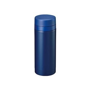 スリムサーモ ステンレスボトル 200ml:ネイビーの商品画像