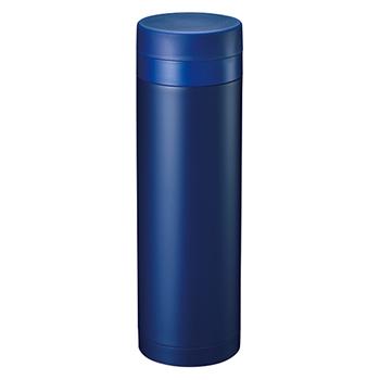 スリムサーモ ステンレスボトル 500ml:ネイビーの商品画像