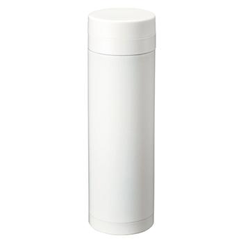 スリムサーモ ステンレスボトル 500ml:ホワイトの商品画像