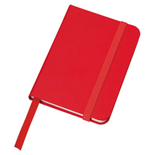 ハードカバーポケットノート:レッドの商品画像