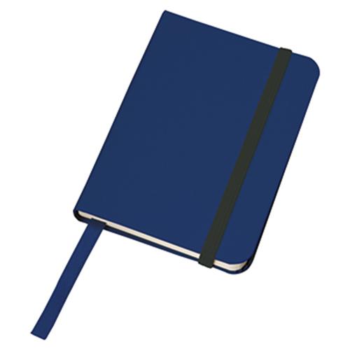 ハードカバーポケットノート:ネイビーの商品画像